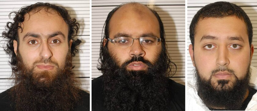 Three Muslim extremists convicted of terrorist plot in Britain