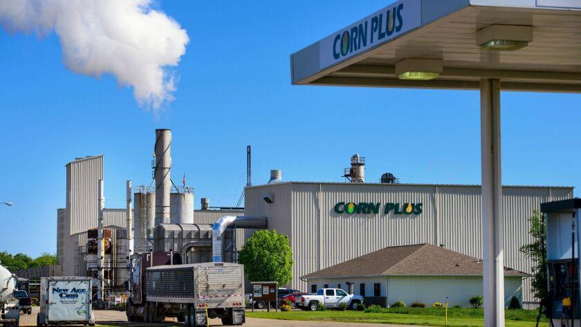 The Corn Plus ethanol plant in Winnebago, Minn.