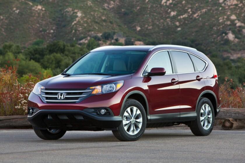 Honda will recall more than 200,000 vehicles including the 2013 Honda CR-V to fix a shifter problem.