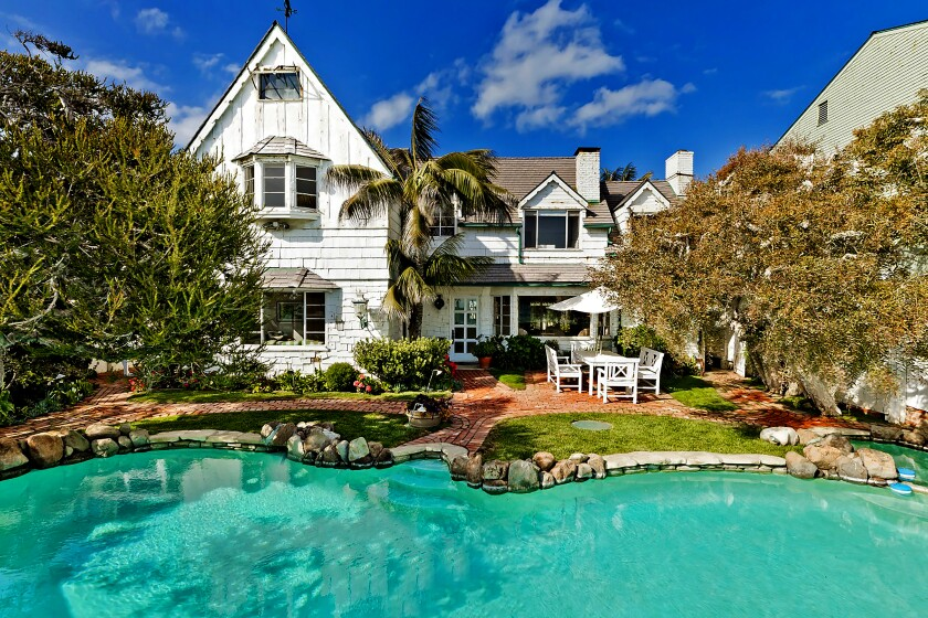 The longtime Malibu Colony home of Lee Phillip Bell and William J. Bell, has sold for $18.275 million.