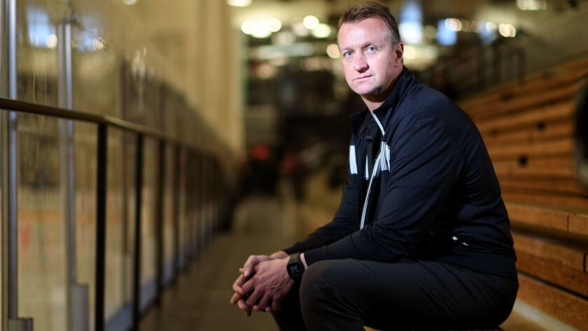 As the new general manager of the Kings, Rob Blake plans to have a physical team.