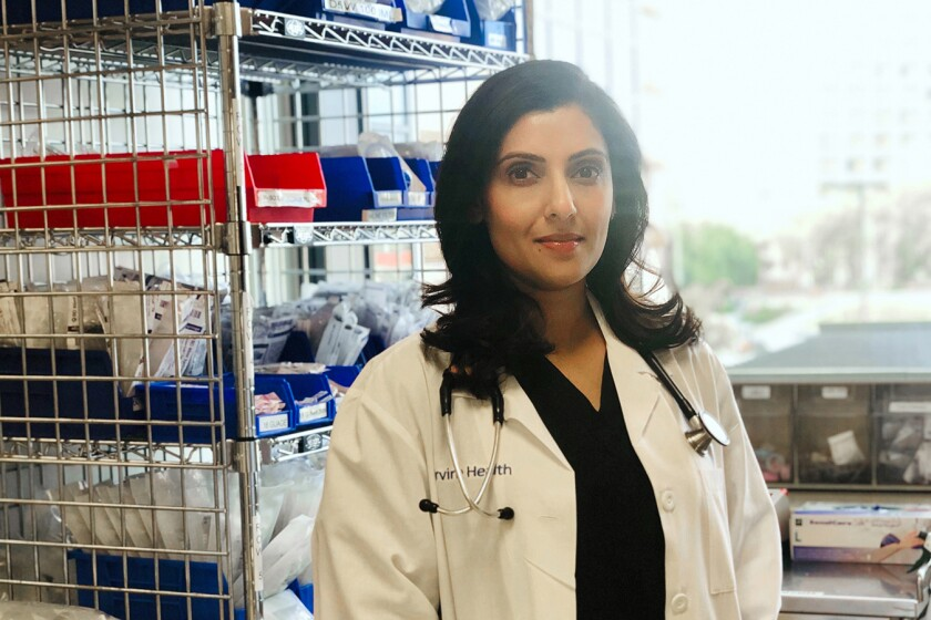 Nilu Patel, a certified registered nurse anesthetist