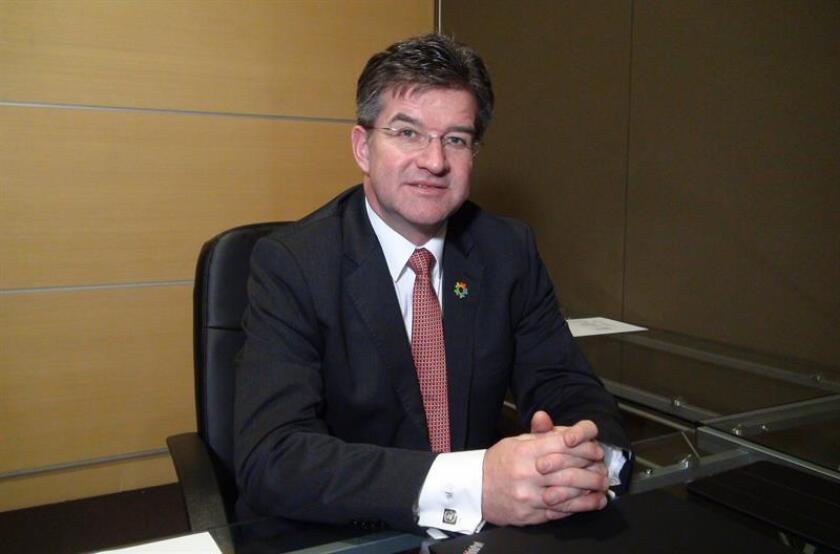 """Para el presidente de la Asamblea General de Naciones Unidas, Miroslav Lajcak, la migración se ha gestionado de una forma """"muy nacional y reactiva"""" y es """"urgente"""" tener un acuerdo a escala global sobre el tema. EFE/Archivo"""