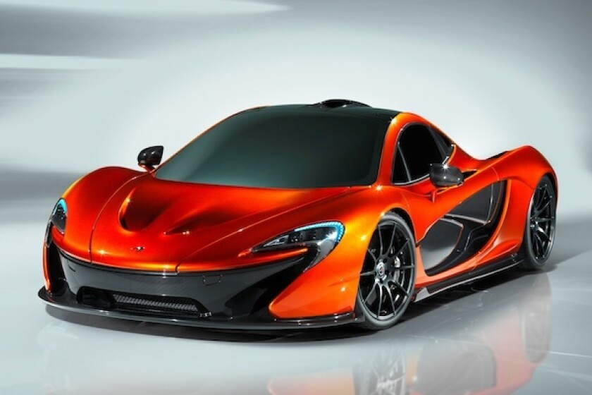 McLaren's all-new P1 supercar will make its official debut at the 2012 Paris Motor Show.