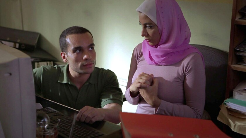 """""""When Monaliza Smiled"""" screens at the Arab Film Festival Friday evening at the Harmony Gold Theatre."""