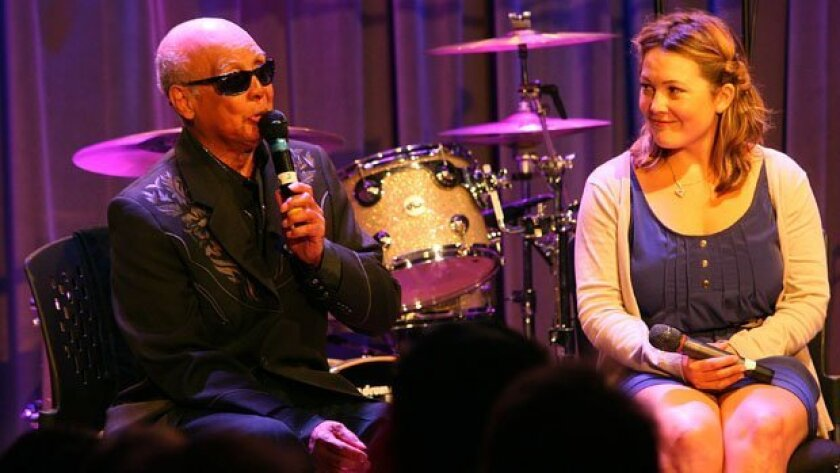Jimmy Carter from The Blind Boys of Alabama and Sara Watkins