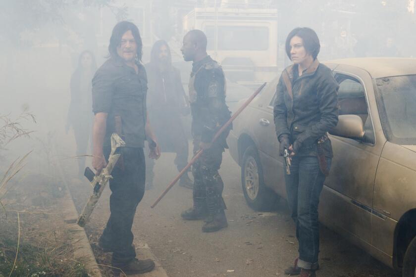 """A scene from """"The Walking Dead"""""""