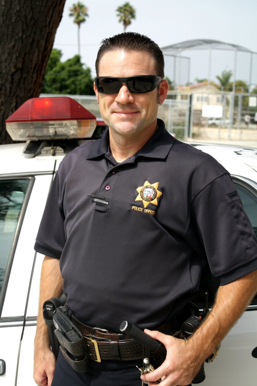 "Officer John Ross joined the ""staff"" at La Jolla High SChool in September 2011."