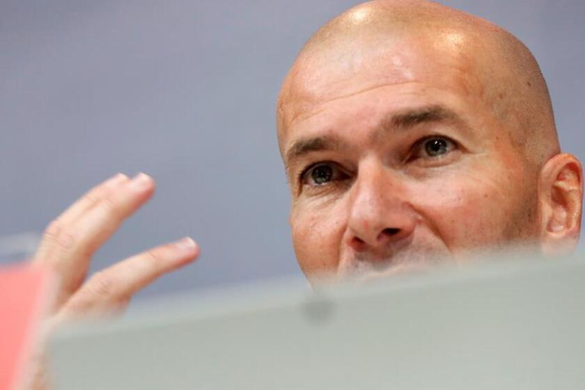 Imagen de archivo de Zinedine Zidane. EFE/Archivo