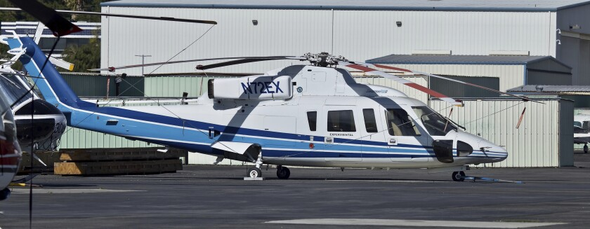 Sikorsky S-76B helicopter