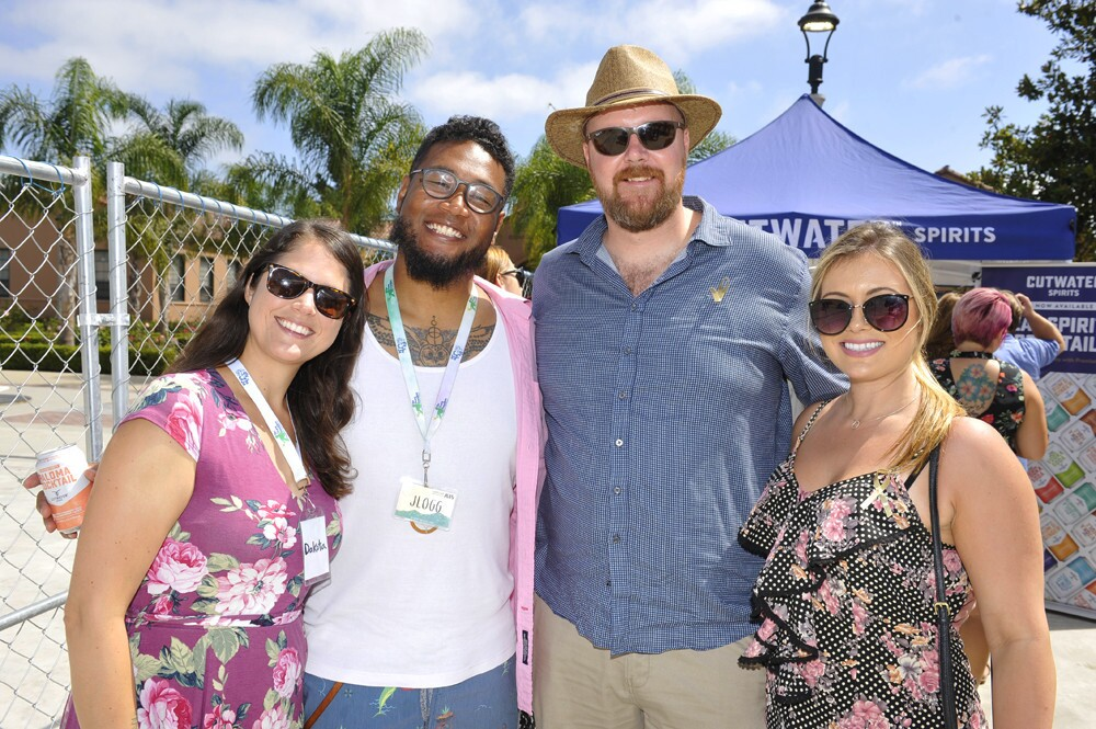 Some of the city's best chefs threw down to support kids affected by cancer at Seany's Chefs Fest, featuring a culinary competition, food tastings, art, music and more at Liberty Station on Sunday, Sept. 23, 2018.