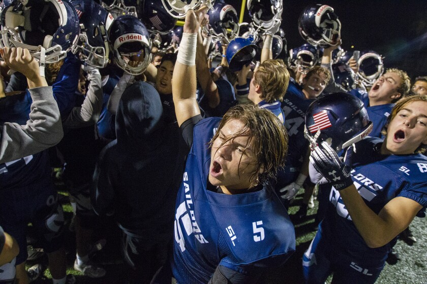 Justin McCoy's late TD caps Newport Harbor football comeback win over Monrovia in CIF Division 9 quarterfinal