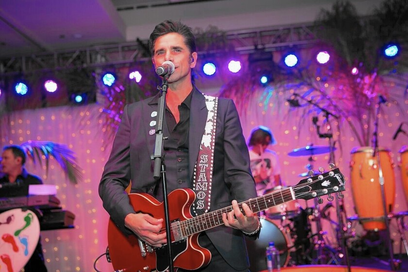 John Stamos will perform with the Beach Boys Saturday for the second annual Goodwill of Orange County Gala.