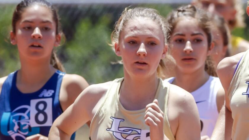 La Costa Canyon's Jessica Riedman leads the section in the 800- and 1600-meter runs.