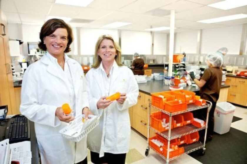 Co-founders of La Vita Pharmacy, Debra Hubers and Christine Givant, R.Ph. Courtesy