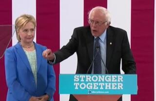 """Why Hillary Clinton will make an """"outstanding president,"""" by Bernie Sanders"""