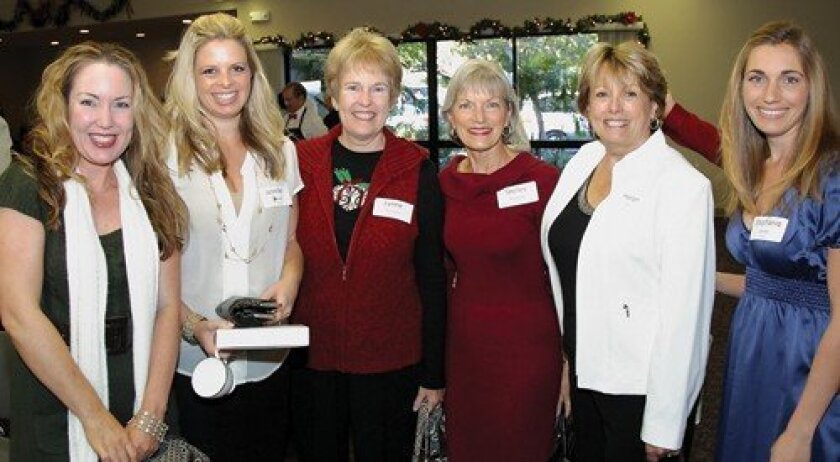 Debbie Shugart, Jennifer Bhagnani, Lynn Thompson, Shirley Billingsley, Helen Hill, Stephanie Selarka (Photo: Jon Clark)