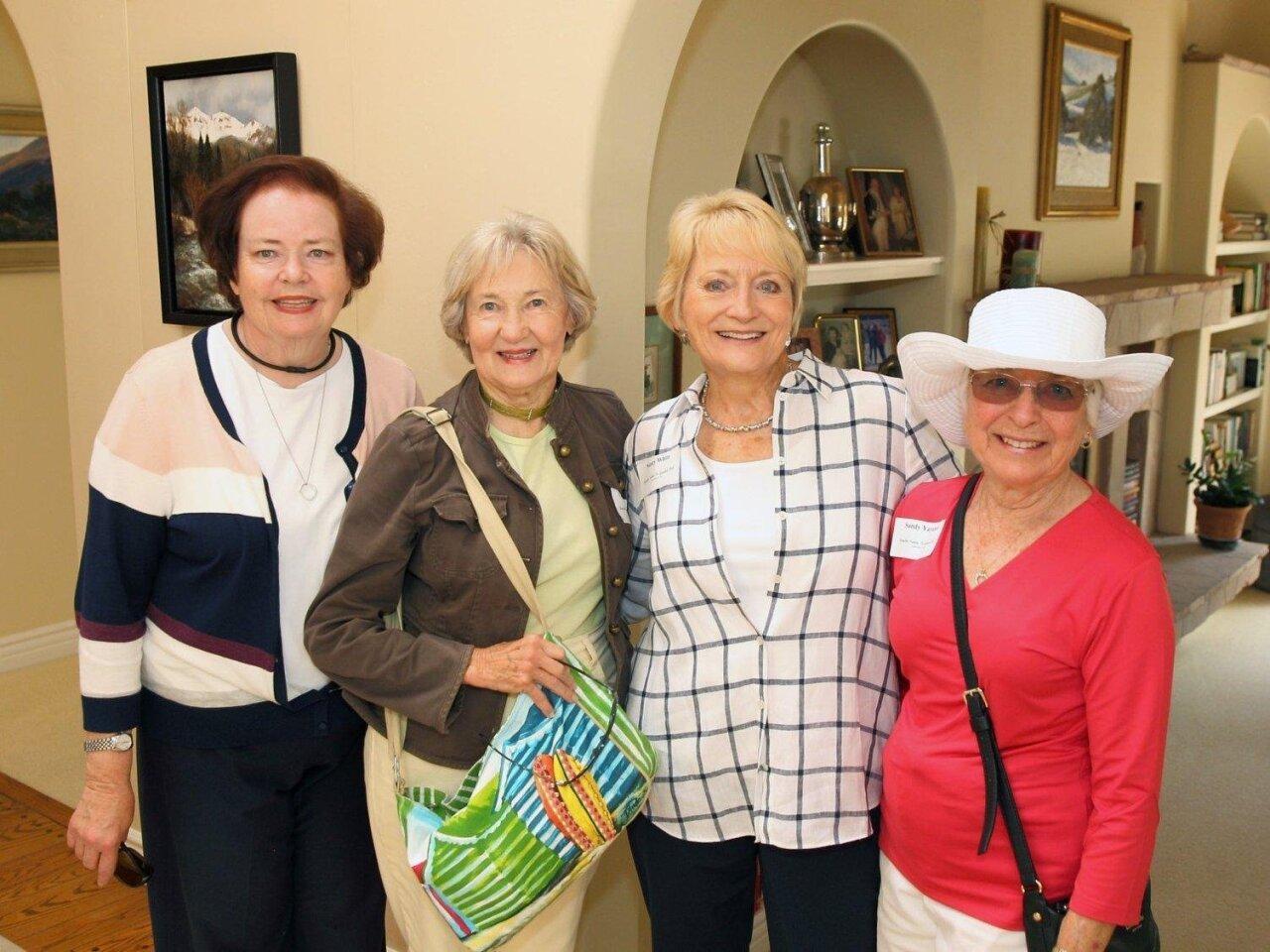 Pam Wasserman, Carol Streeter, Nancy White, Sandy Yayanos