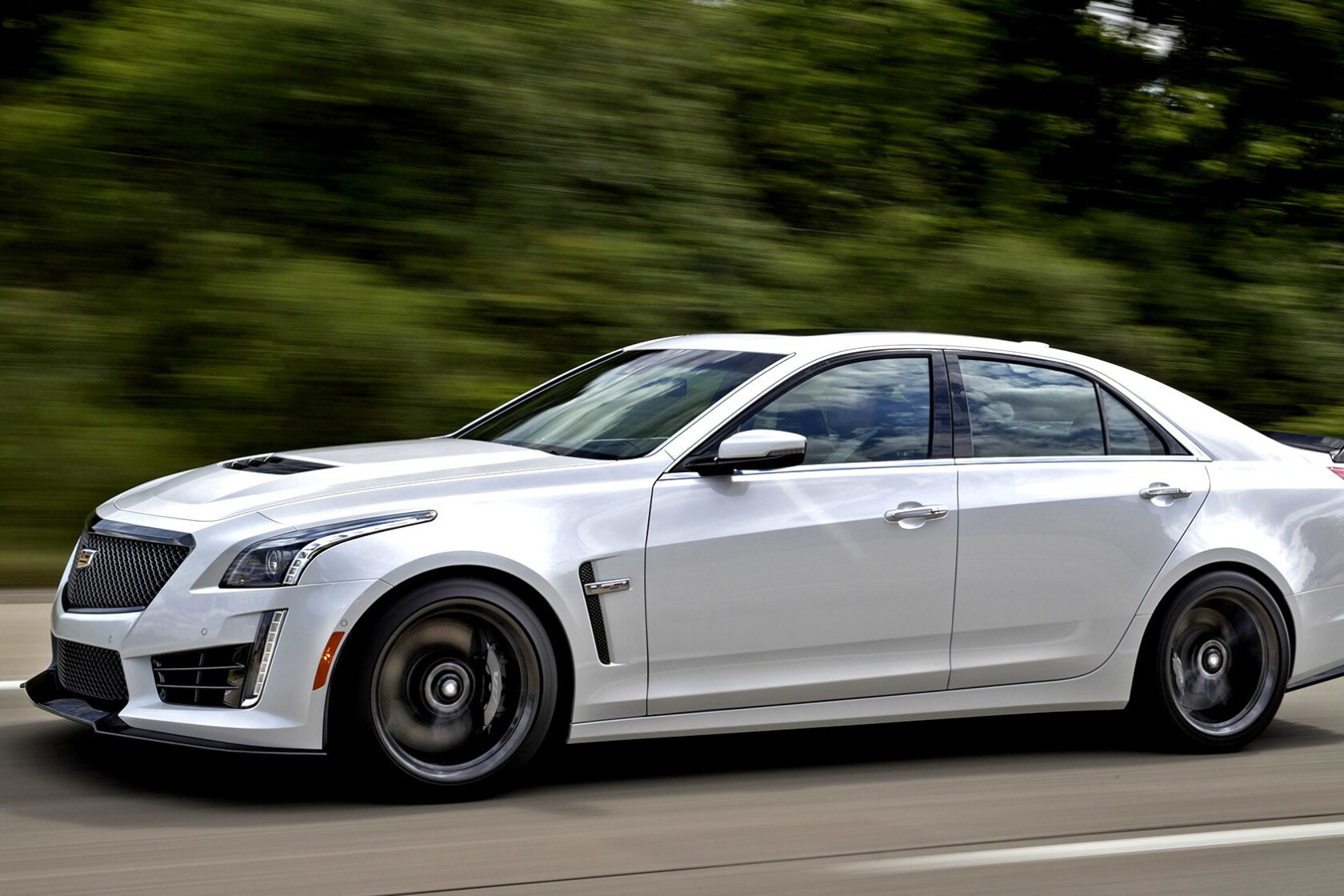 Who Makes Cadillac >> Review Cadillac S Cts V Is A High End Hooligan That Doubles