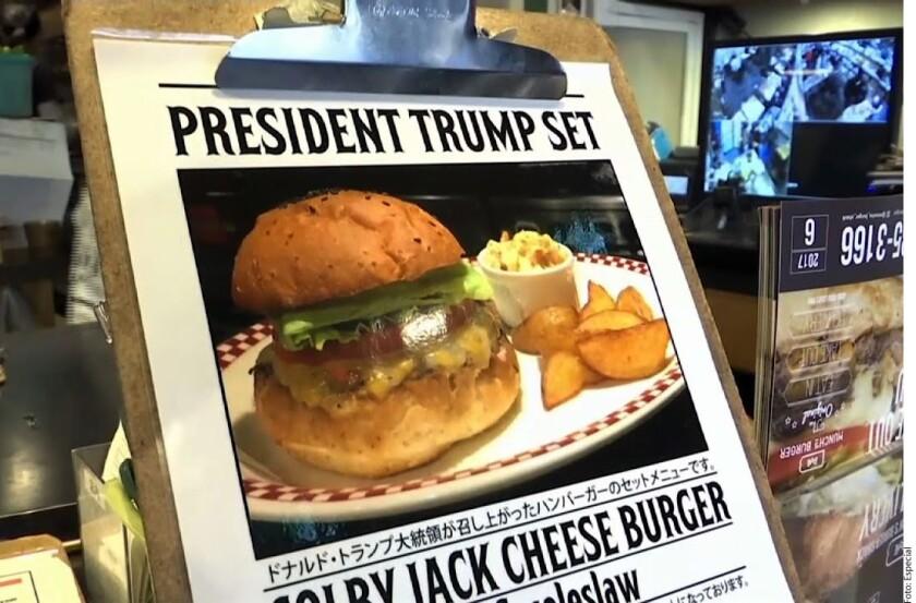 ¿Qué celebridad o personaje histórico te inspiraría lo suficiente para comprar su comida favorita? Si se le pregunta a algunos japoneses, la respuesta sería el Presidente de Estados Unidos, Donald Trump.