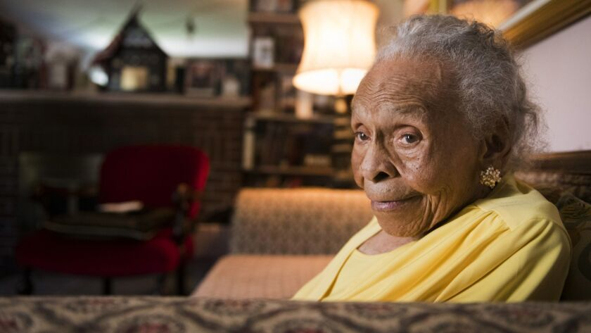 Olivia Hooker was 6 at the time of the Tulsa race massacre, which erupted on May 31, 1921, when a white lynch mob descended on the courthouse where a black teenager was being held.