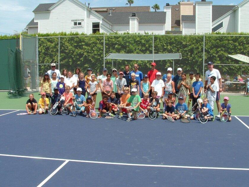 Junior Tennis Camp at La Jolla Tennis Club