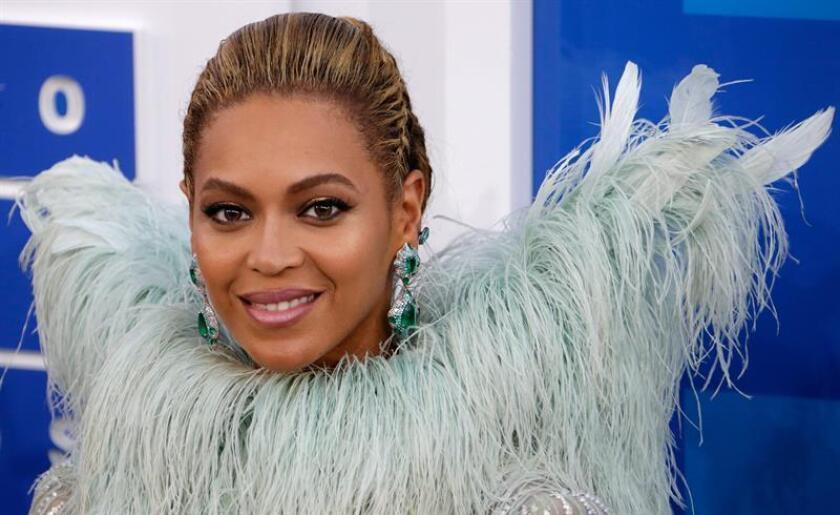 Fotografía de archivo de la cantante estadounidenses Beyoncé.EFE/Archivo