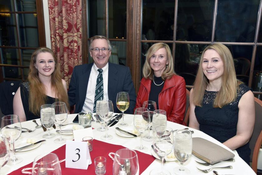Melissa Grajek, RSF Rotary past President Greg and Cindy Grajek, Juleane Petersen