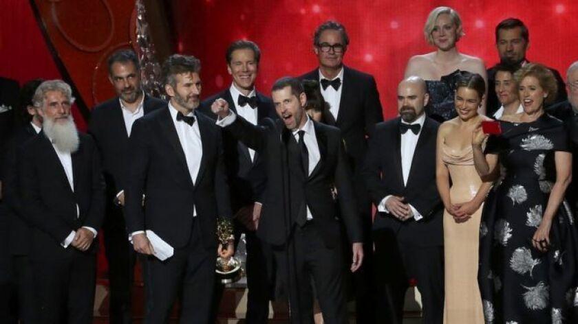 La serie Game of Thrones consiguió 12 de los 23 premios Emmy para los que estaba nominada.