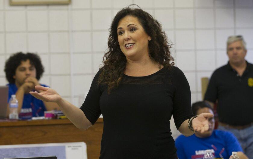 Assemblywoman Lorena Gonzalez said Friday that Mayor Bob Filner should resign his post.