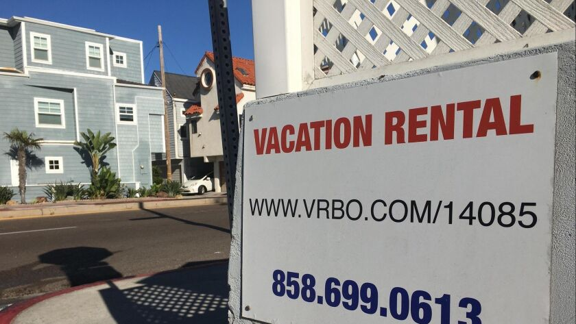 The proliferation of vacation rentals promoted on sites like Airbnb has prompted Mayor Faulconer to propose regulations that he hopes the San Diego City Council will adopt.