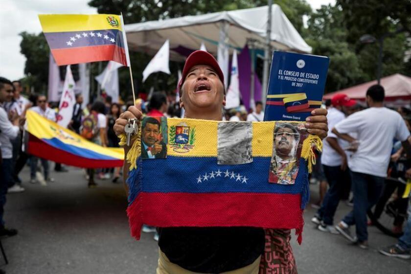 """EEUU denunció hoy las """"pésimas condiciones humanitarias"""" que padece el pueblo venezolano y advirtió de que no levantará las sanciones que pesan sobre el país si el presidente Nicolás Maduro no restaura el """"orden constitucional"""". EFE/ARCHIVO"""