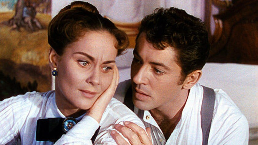 "Alida Valli and Farley Granger in the 1954 film ""Senso."""