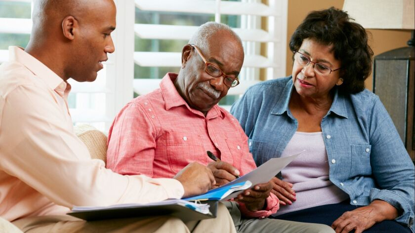 Make sure to review wills and estate plans — either your own or your parents' — every five years or so, and make any adjustments that are necessary.