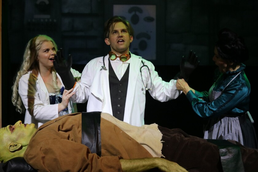 Young Frankenstein at the Attic Community Theater