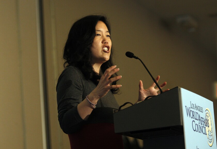 Bain vs. California Teachers Assn. is being bankrolled by StudentsFirst, a group founded by onetime Washington, D.C., schools chancellor Michelle Rhee.