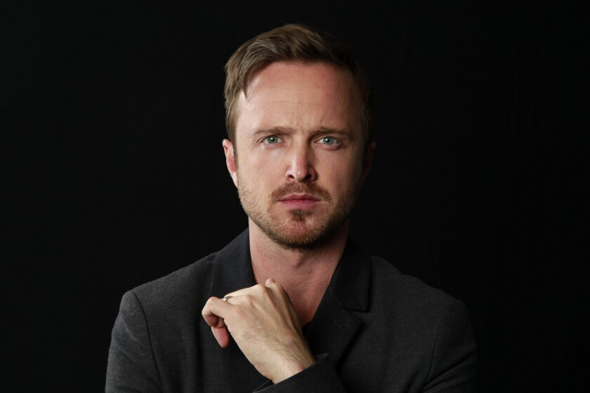 "Aaron Paul stars in the new drama series on Hulu, ""The Path,"" which portrays members of a fictional religion known as Meyerism. Paul's character Eddie suffers a crisis of faith when all that he has come to accept as truth is fundamentally challenged."