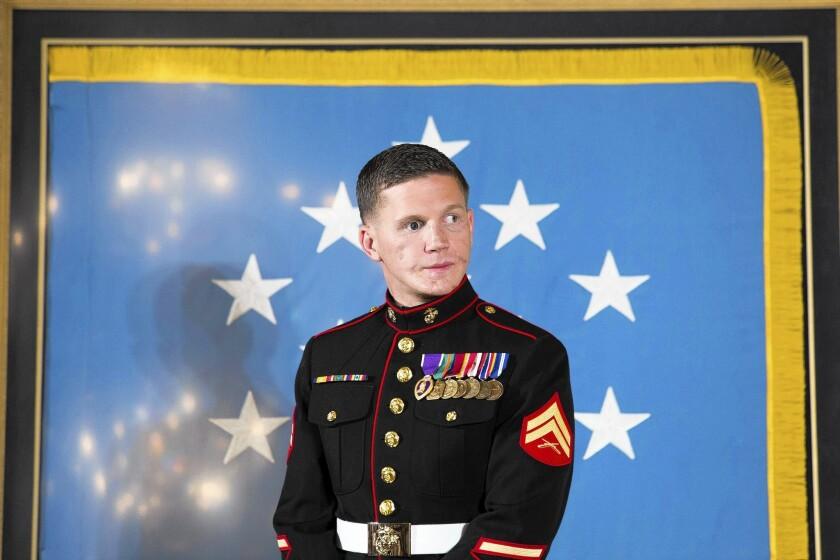 Marine Cpl. William Kyle Carpenter