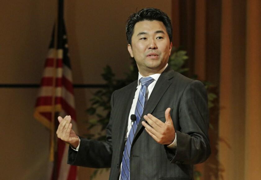 Los Angeles City Councilman David Ryu