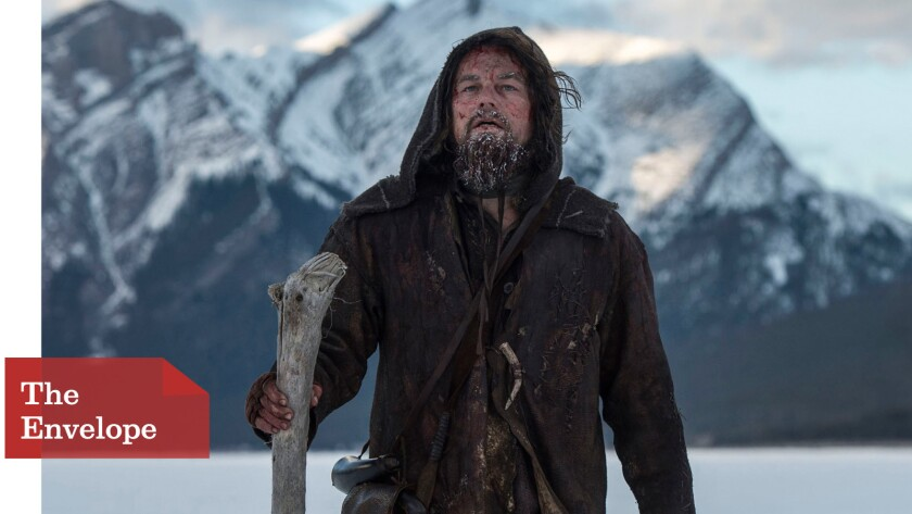 "Leonardo DiCaprio crosses uncharted territory in ""The Revenant,"" but not at the Globes, where he may make his third walk to the winner's podium."