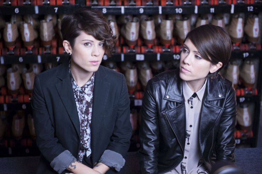 Indie rock duo Tegan and Sara are among the musicians slated to participate in Stanford University's new online creativity course.