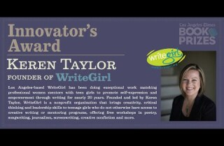 Los Angeles Times Book Prizes: Keren Taylor, Innovator's Award
