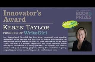 Los Angeles Times Book Prizes: Keren Taylor, Innovator's Award