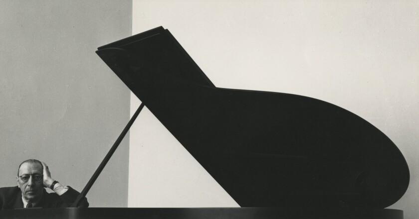"*****ONE TIME USE***** ""Igor Stravinsky, New York City, 1946."" Credit: Arnold Newman/Fahey/Klein Ga"