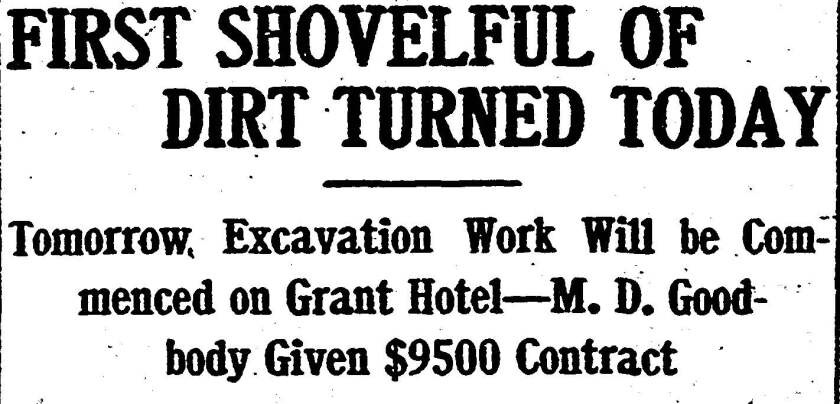 1906 newspaper page