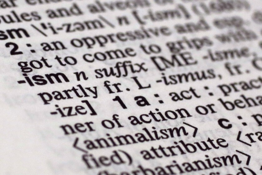 """Part of a dictionary definition of the suffix """"ism"""""""