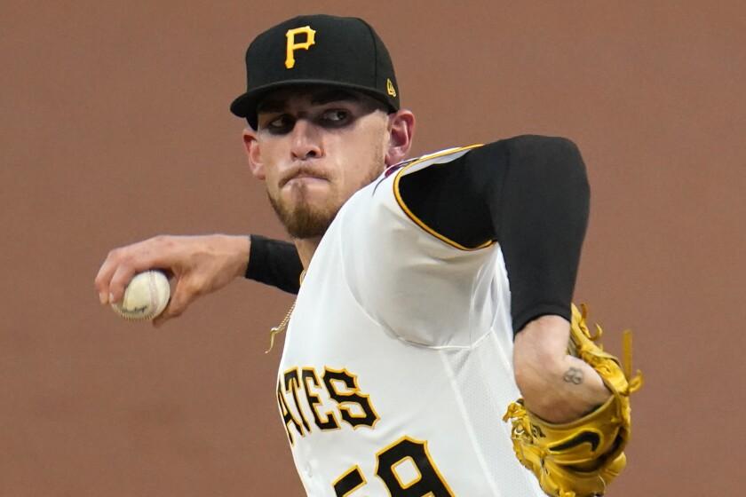 Pirates starting pitcher Joe Musgrove