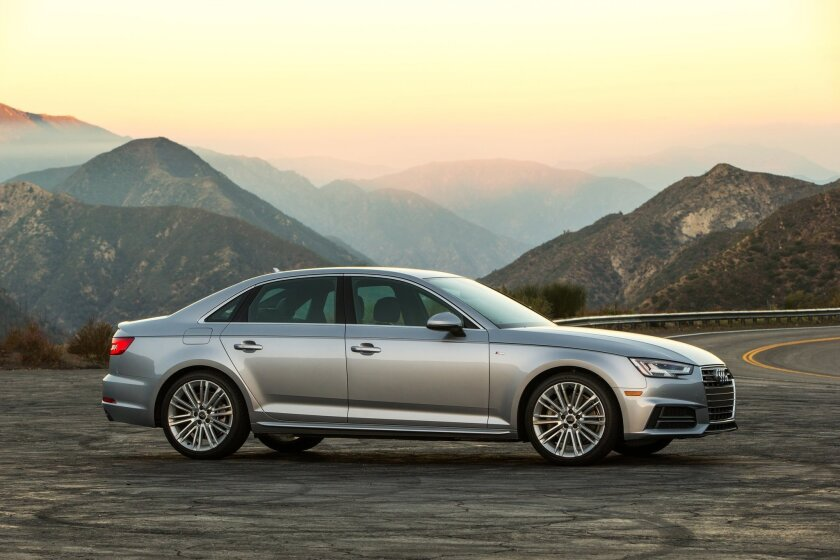 San Diego Audi >> Fact Sheet 2017 Audi A4 The San Diego Union Tribune