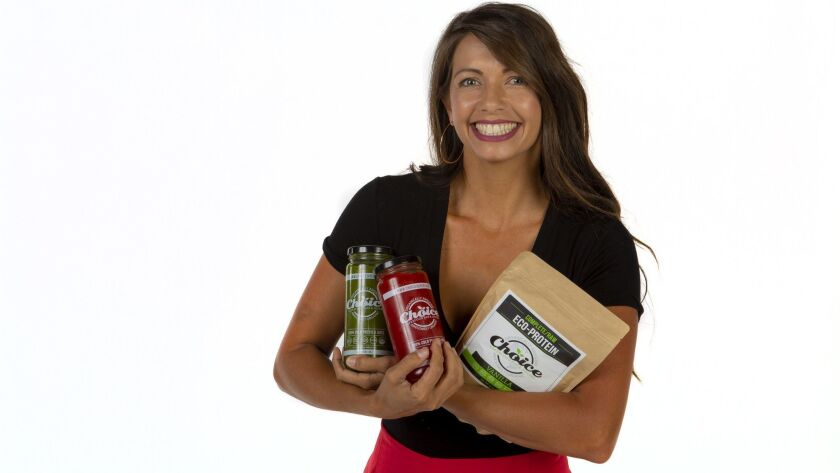 Nastasha McKeon, a mom, entrepreneur, and sustainable lifestyle enthusiast who founded Choice Superfoods Bar & Juicery with locations throughout San Diego County.