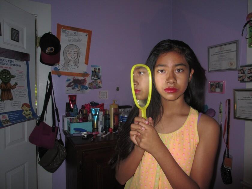 Celeste Umana created this self-portrait for Las Fotos Project.